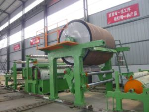 787mm Toilet Paper Machine, Toilet Tissue Paper Machine, Small Paper Machine Test Line pictures & photos