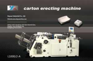 Adopting Servo System to Control The Forming Structure Carton Erecting Machine (L1350/4-A) pictures & photos