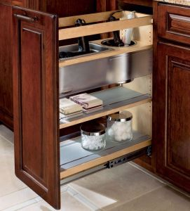 America Style Solid Wood Kitchen Cabinets (PR-K2020) pictures & photos