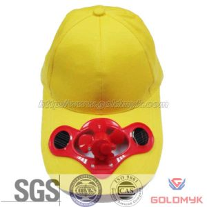 Solar Fan Baseball Cap with Logo Custom (GKA01-A00024) pictures & photos