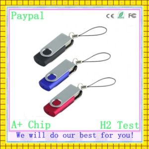 Promotion Free Shipping USB Flash Drive Swivel Flash Drive (GC-S88)