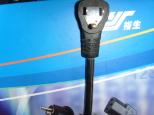 Certificated Power Cord Plug for Japan (YS-59A) pictures & photos