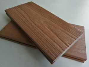Green Building Material Exterior Paving Use Plastic Skirted Wood Decking