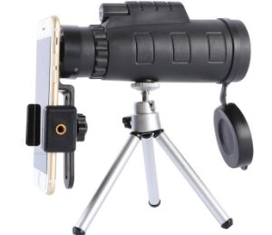 HD Mini Outdoor Bird Watching Mobile Phone Camera Single Cylinder Double Focusing Telescope pictures & photos