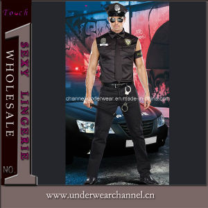 Ce Certification Halloween Men Police Cosplay Party Costume (TBLS20011) pictures & photos
