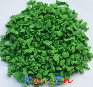 EPDM Granules for Sport Field Surface (K15 Apple Green) pictures & photos