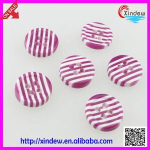 Girl Dress Resin Button (XDJZ-187) pictures & photos