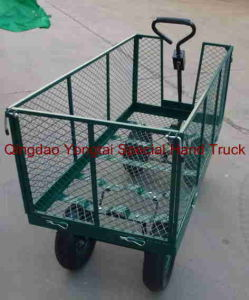 Steel Mesh Garden Cart pictures & photos