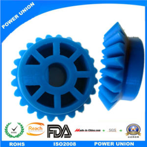 PP Plastic Injection Transmission Bevel Miter Gear for Printers Machines pictures & photos