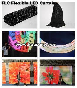 Backdrop LED Curtain Display for Rental Event