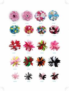 Mix Color Ribbon Ball Hair Bows