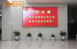 Adjustable Video Program Indoor P4 LED Display for Advertising