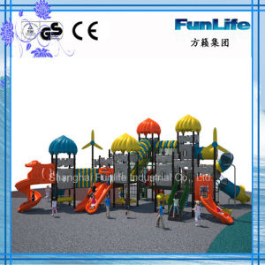 Colorful Slide Outdoor Playground Castal Series China