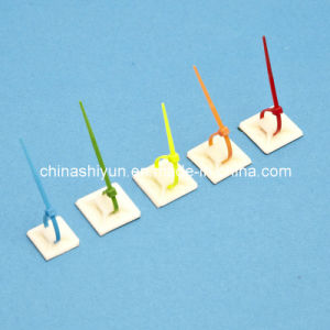 Self-Adhesive Cable Tie Mounts-3m Glue pictures & photos