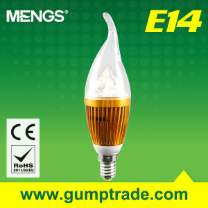 Mengs E14 5W LED Bulb with CE RoHS SMD 2 Years′ Warranty (110110004)