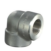 Thread Pipe Fittings, Forgging 90 Degree NPT Thread Elbows pictures & photos