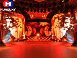 Transparent LED Curtain Display for Special Stage Background