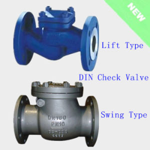 DIN Check Valve Lift and Swing Type