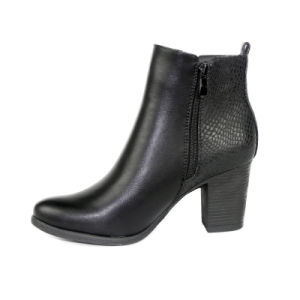 China Wholesale Chunky High Heel Ankle Boots pictures & photos