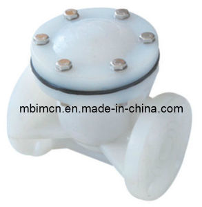Chemical Resistance Swing Check Valve pictures & photos