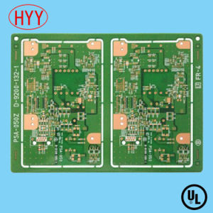China Fr4 Double-Sided PCB with Green Solder Mask 2 Layer - China