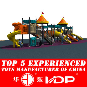 2014 Plastic Slide Type Outdoor Amusement Equipment Toys (HD14-104A) pictures & photos