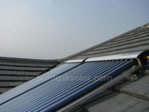 Split Pressurized Solar Hot Water Heater with Solar Keymark pictures & photos