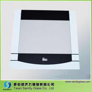 Clear Tempered Printing Glass Panel for Oven