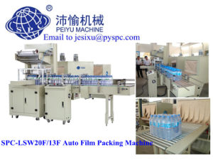 Spc-Lsw20f/ 13f Automatic PE Film Packaging Machine for Beverage Bottle