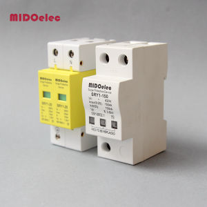 SPD 3p+N 20ka~40ka C ~385VAC House Surge Protector Protection Protective Low-Voltage Arrester Device