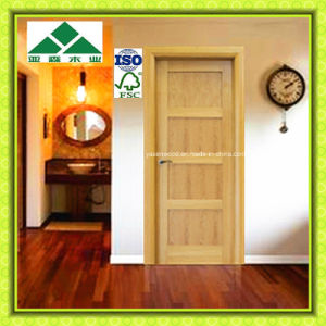 Classic Europe 1/4panel Shaker White Oak Door