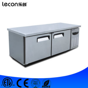 Commercial Table Top Kitchen Worktable Refrigerator