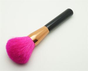 China Wooden Fancy Hair Powder Makeup Brush China Powder Brush And Cosmetic Brushes Price