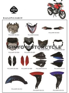 Wholesale Various Kinds Bajaj Pulsar Motorcycle Spare Parts pictures & photos