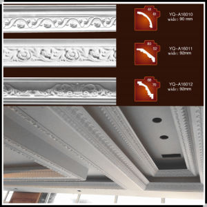 Polyurethane Crown Molding! Alternative to Plaster or Wood Moulding! (YQ-004)