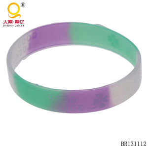 Good Luck Silicone Bracelet Wristband pictures & photos