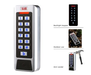 Double Relays Standalone Access Control Keypad Cc1eh