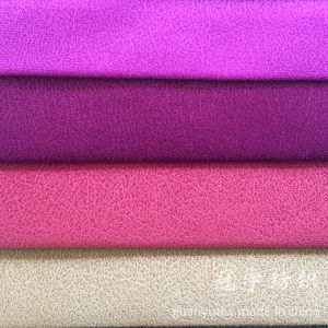 Embossed Velour Ultra Soft Terry Fabric for Decoration pictures & photos