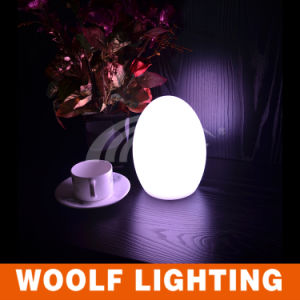 Waterproof Rechargeable Decorative LED Egg Table Lighting