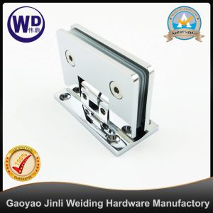 Positionable Glass to Wall Bathroom Shower Hinge