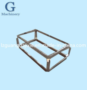 Stainless Steel Stents Tea Table