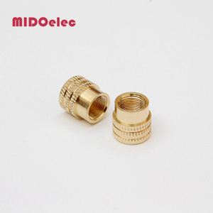 Brass Flat Head Insert Nuts