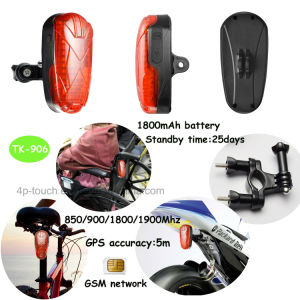 Easy Install Bicycle/Motorcycle GPS Tracker Tk906 pictures & photos