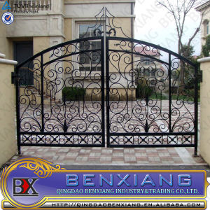 Cast Iron Gate Wrought Iron Gate Arch pictures & photos