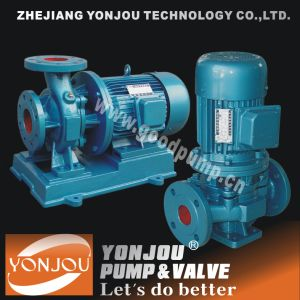 Horizental Piping Pipeline Pump Inline Centrifugal Water Pump pictures & photos