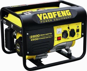2500 Watts Portable Power Gasoline Generator with EPA, Carb, CE, Soncap Certificate (YFGP3000) pictures & photos
