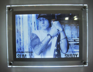 Acrylic Crystal LED Photo Frame