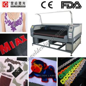 Double Head Laser Cutter for Textile, Fabric, Applique, PVC Leather (JGHY-160100LDII)