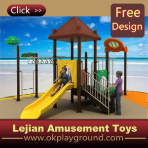 En1176 Funny Kids Plastic Playground for Park (X12193-9)