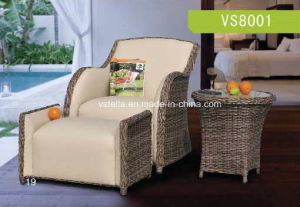Unique Home and Outdoor Design PU Leather Rattan Furniture